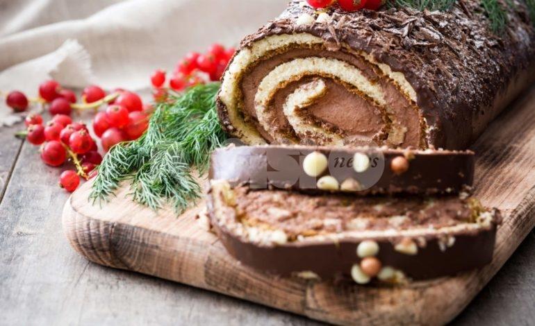 Tronchetto di Natale: ricetta e preparazione della versione al cioccolato