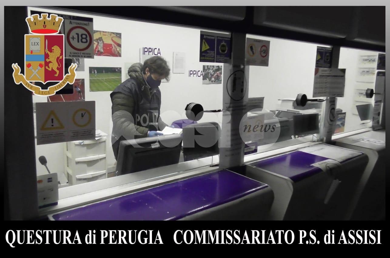 Sala scommesse come base di spaccio, 32enne nei guai a Bastia Umbra (foto+video)