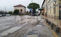 Piazza Dante Alighieri e via Giosuè Carducci, finalmente i lavori di riqualificazione