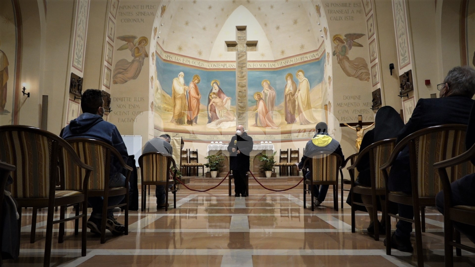 Giornata mondiale del malato 2021, il vescovo visita ospedale, Serafico e Andrea Rossi