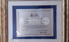Ospedale di Assisi, targa di ringraziamento a un anno dal primo caso sospetto di Covid