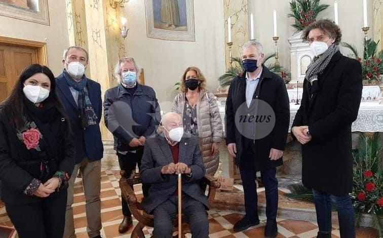 Marsilio Alessandretti compie 100 anni, grande festa a Viole di Assisi