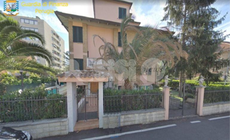 Villa con piscina venduta fittiziamente, nuovo sequestro della Finanza a Bastia Umbra (foto-video)