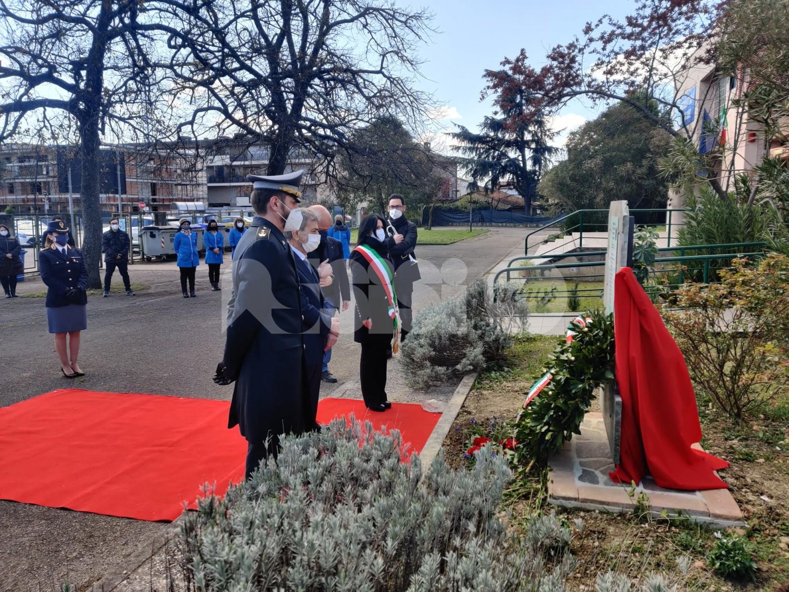 Tutti uniti contro le mafie, al Polo-Bonghi cerimonia in memoria delle vittime