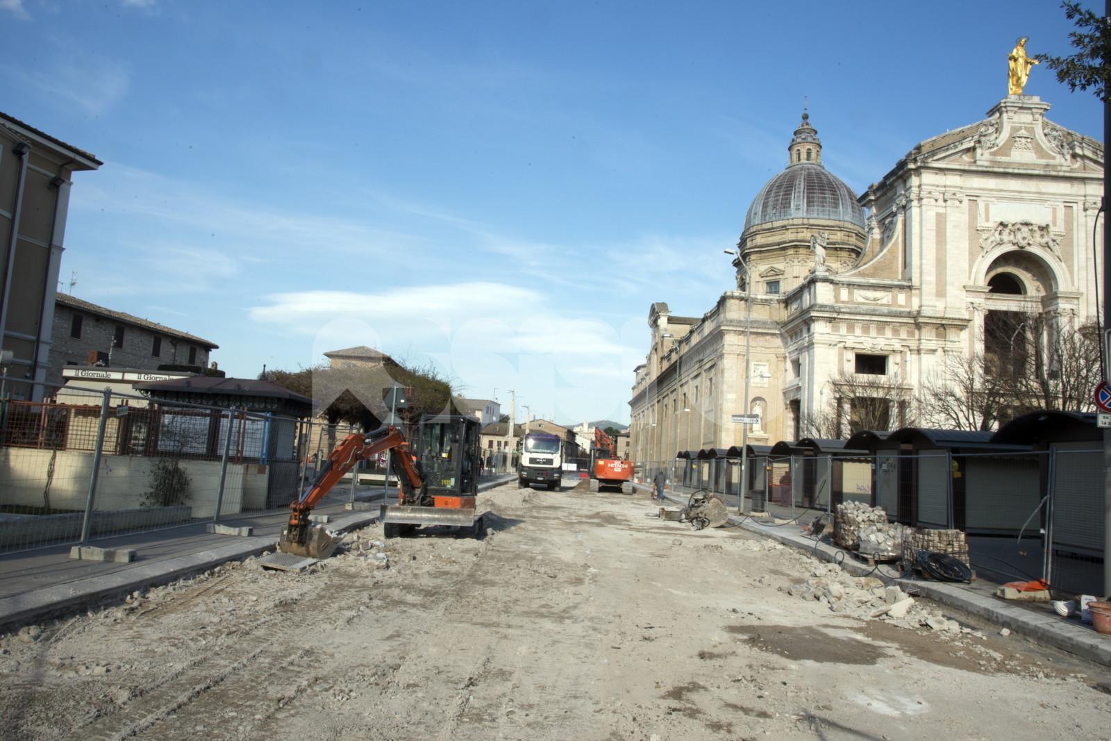 Sanpietrini a Santa Maria degli Angeli, dal Viminale 1 milione di euro a fondo perduto