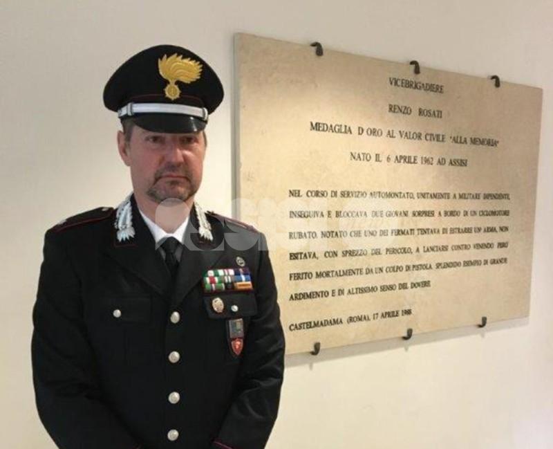 Il sottotenente Bruno Leo confermato alla guida del Norm di Assisi