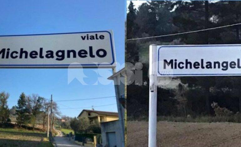 """Segnaletica a Palazzo di Assisi, Travicelli: """"Ancora un errore!"""""""