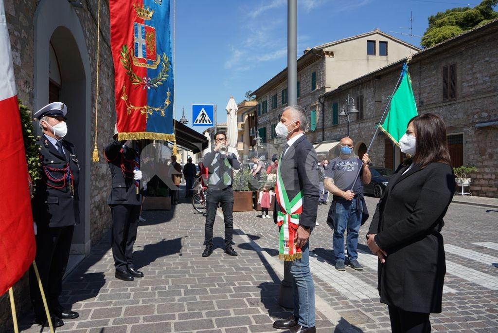 25 aprile 2021, celebrazioni ad Assisi e in tutta l'Umbria (foto)