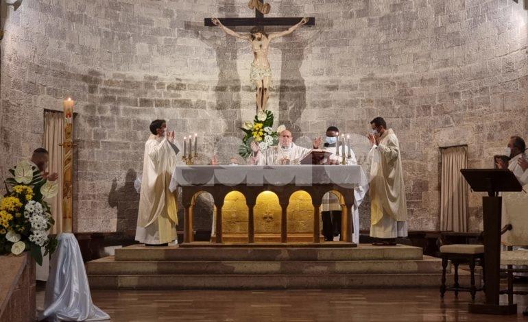 Santuario della Spogliazione, messa per il quarto anniversario dell'inaugurazione