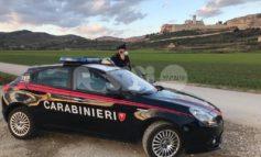 Controlli del territorio, i carabinieri denunciano 3 persone tra Assisi e Bastia