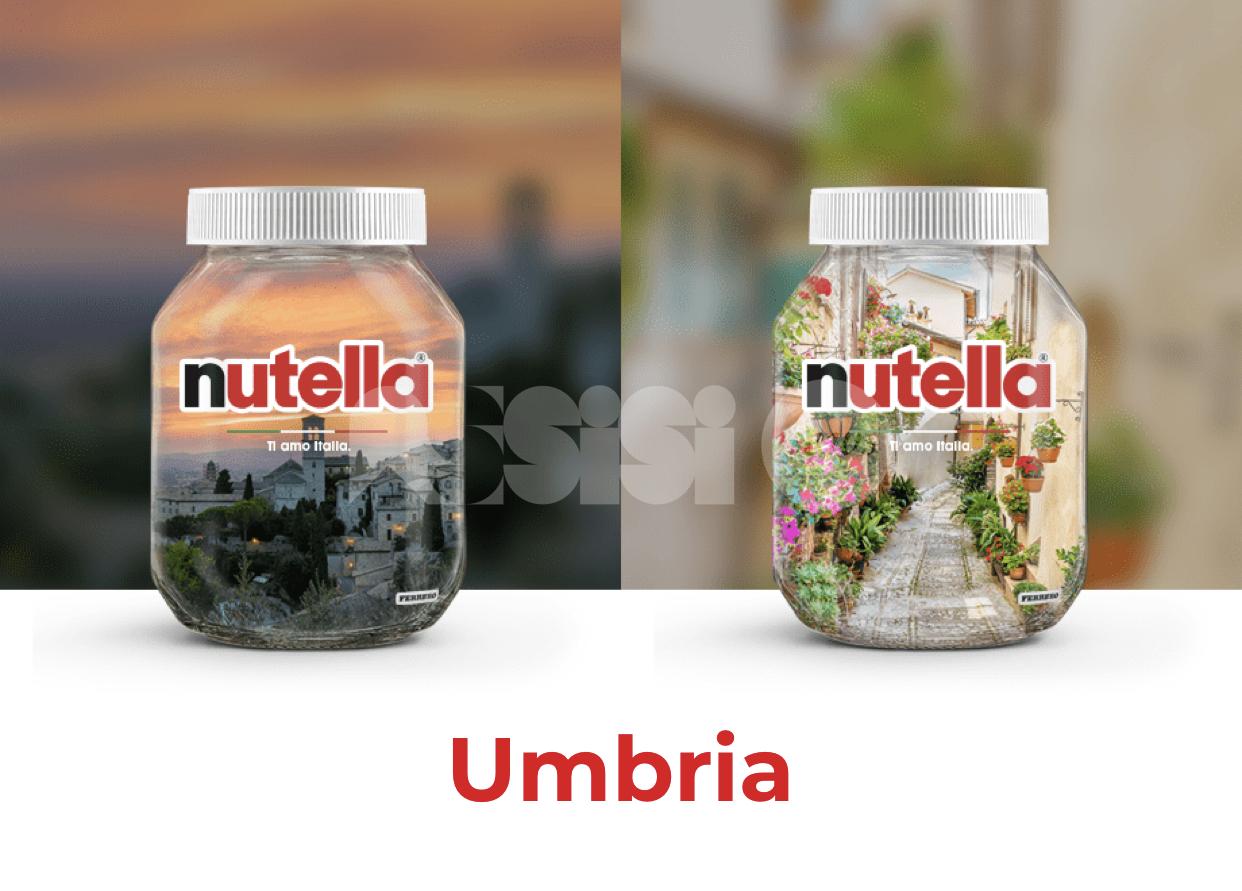 """Nutella, nel contest per i barattoli di """"Ti amo Italia"""" anche Assisi e Spello"""