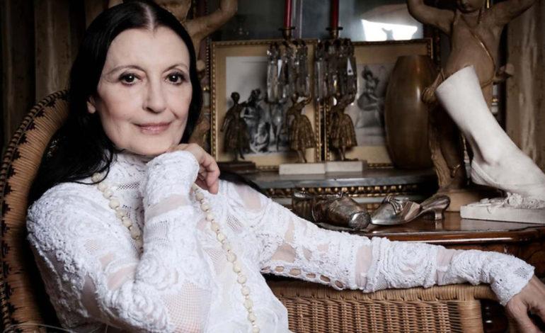 Il mondo della danza piange Carla Fracci, nel 2015 fu madrina di un evento ad Assisi