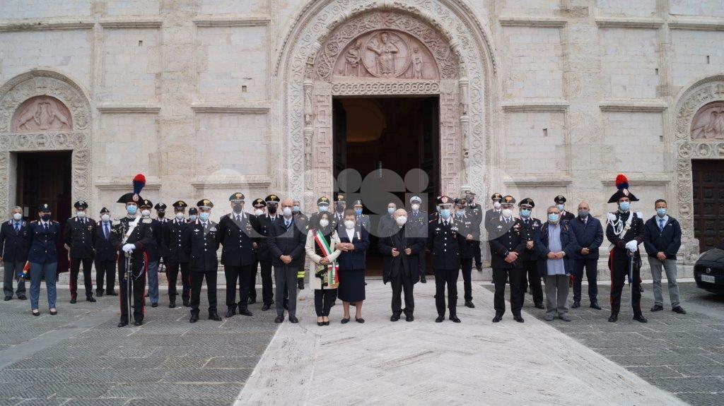 Renzo Rosati, cerimonia ad Assisi in memoria del vice brigadiere (foto)