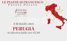 Le piazze di Francesco il 4 maggio a Perugia con Bassetti e Bocelli