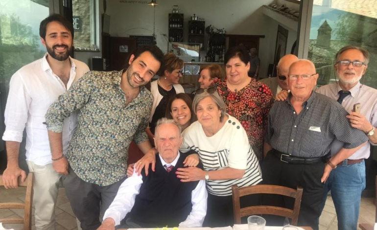 Palmerino Mariucci, grande festa per un altro nonno centenario (foto)