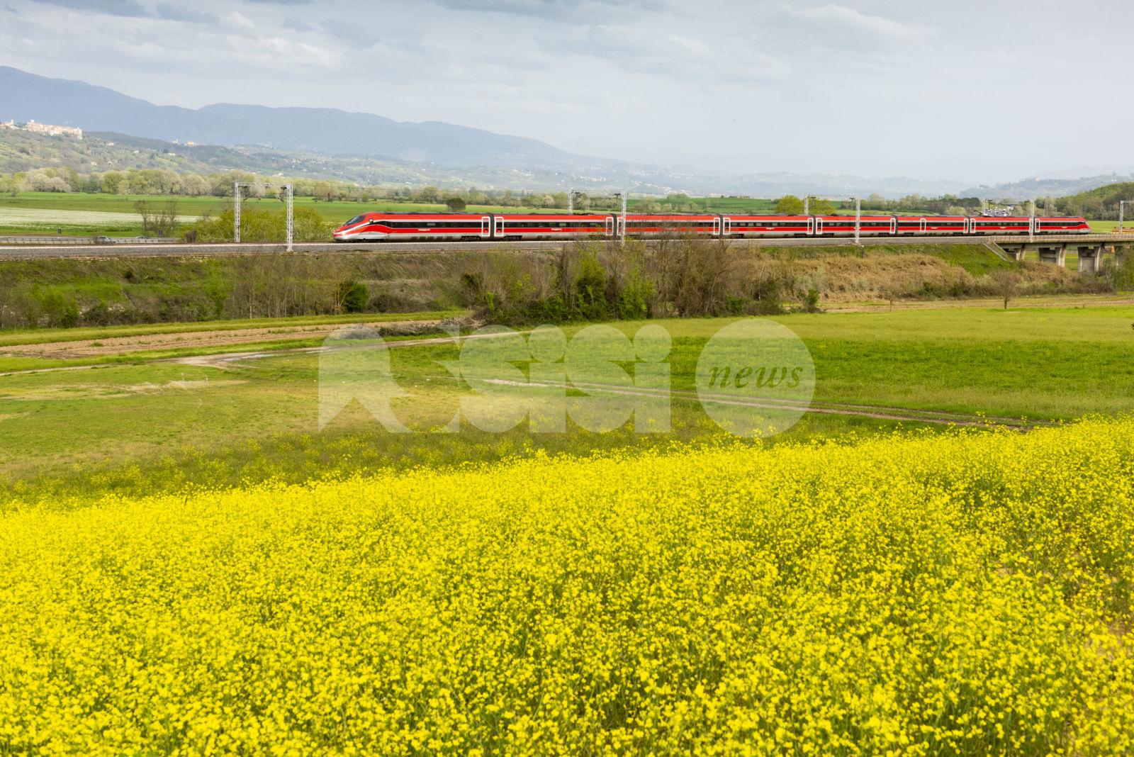 Trenitalia, l'orario estivo porta 80 treni e 8 Frecciarossa per l'Umbria