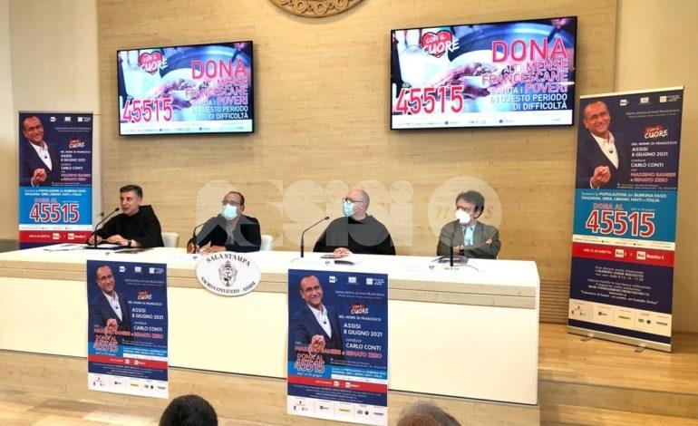 Con il cuore nel nome di Francesco 2021, ad Assisi si rinnova l'appuntamento con la solidarietà (foto+video)