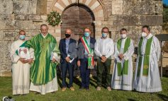 Abbazia di San Quirico a Bettona, completato il progetto di restauro