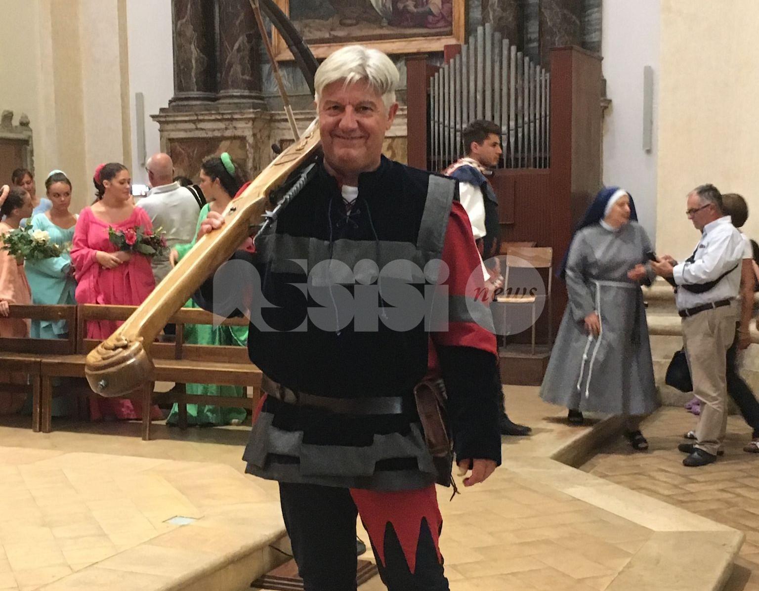 Balestrieri di Assisi, Claudio Mancinelli nuovo presidente