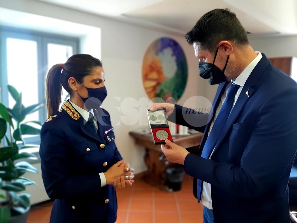 """Il sottosegretario Nicola Molteni in visita ad Assisi: """"Commissariato presidio di prossimità"""" (foto)"""
