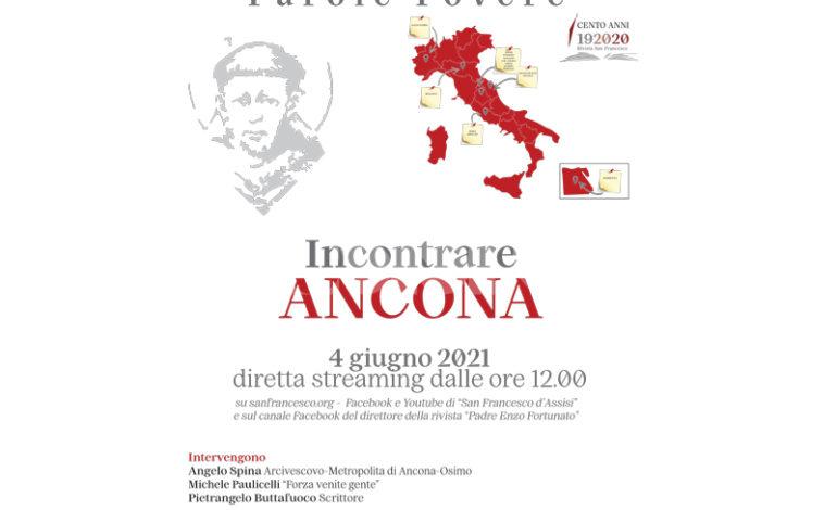 Le piazze di Francesco in diretta da Ancona venerdì 4 giugno 2021