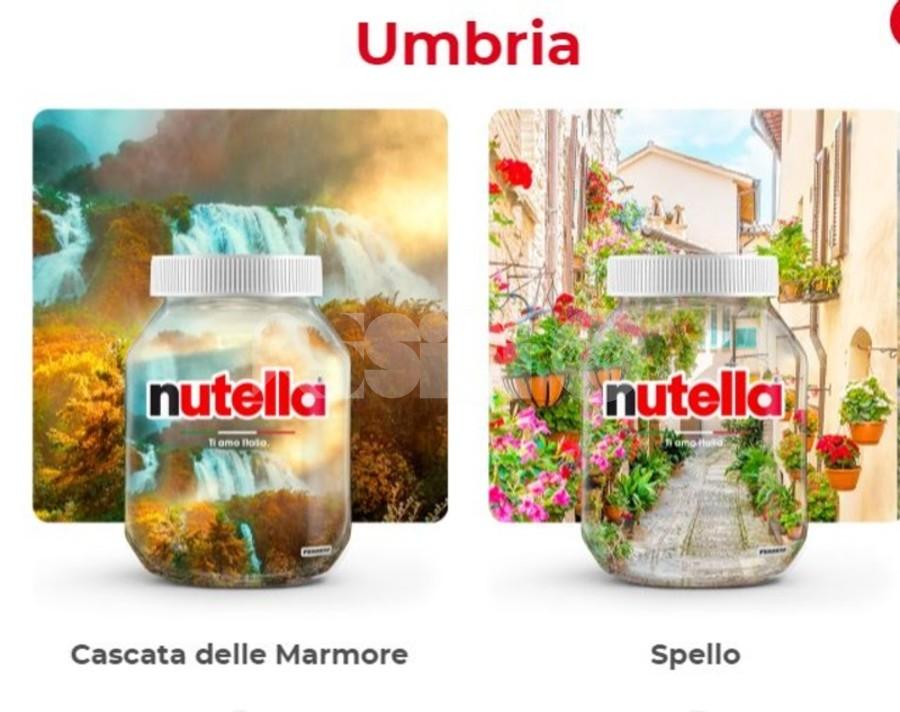 Ti Amo Italia 2021, nei vasetti Nutella l'Umbria sarà rappresentata da Spello e Marmore
