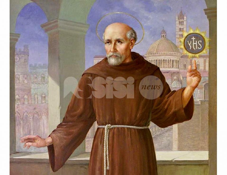 San Bernardino da Siena, domenica 27 a Tordandrea la presentazione di un libro sul patrono
