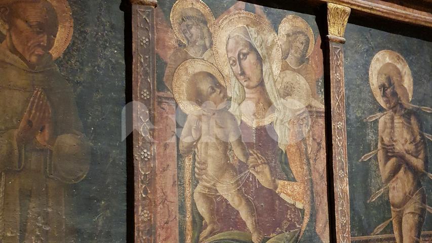 Trittico ligneo di Matteo da Gualdo, ad Assisi una iniziativa a sostegno del restauro