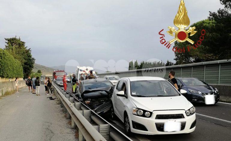 Incidente fra Spello e Assisi, quattro auto coinvolte