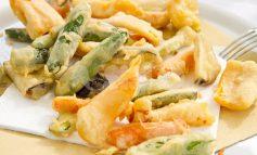 Fritto misto di verdure all'italiana, ingredienti e preparazione