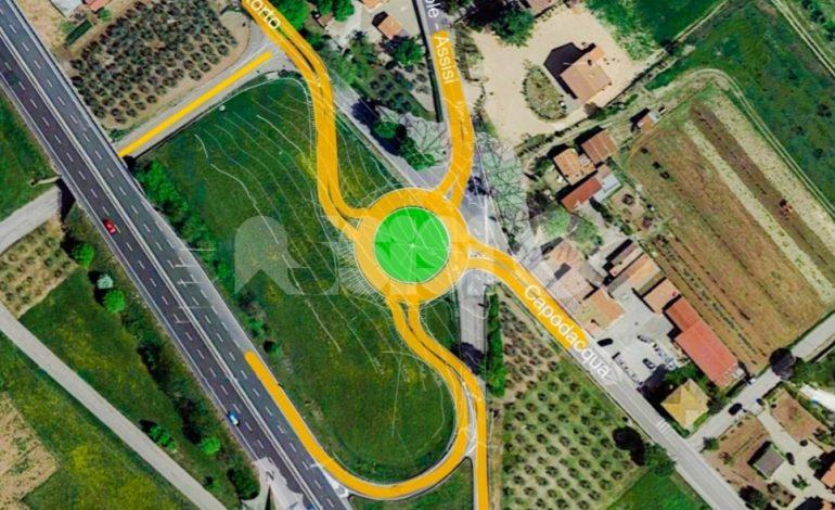 Rotatoria Passaggio di Assisi – Capodacqua, il consiglio approva l'iter