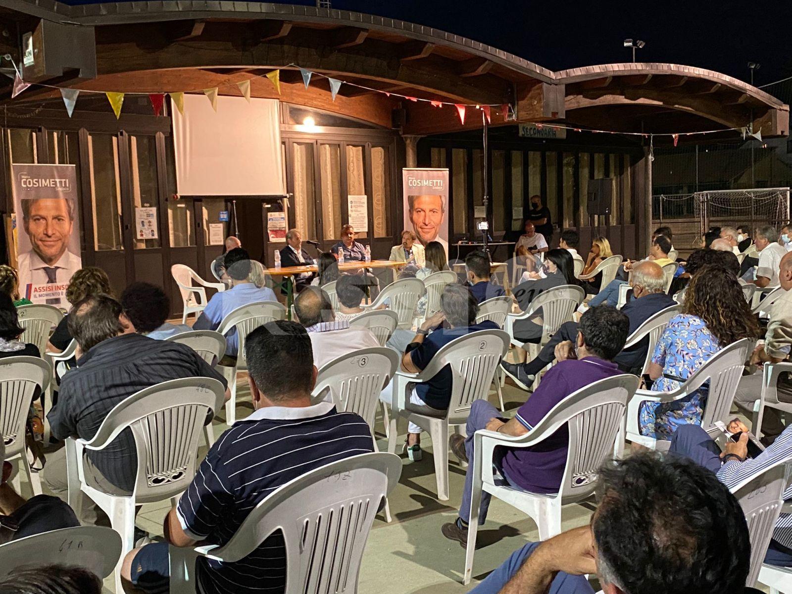 Marco Cosimetti, incontro con i cittadini di Rivotorto e Pro loco Santa Maria