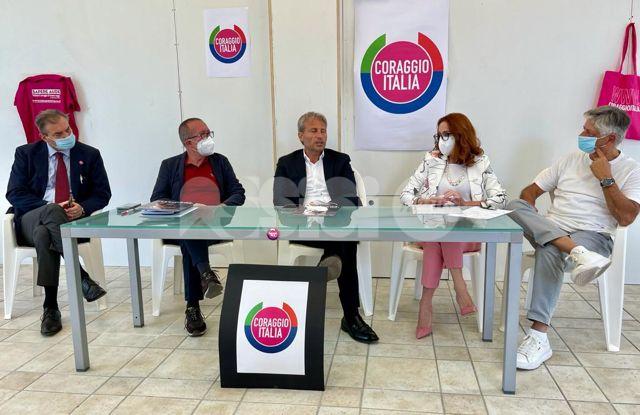 Coraggio Italia, anche il partito di Brugnaro e Toti sostiene Marco Cosimetti