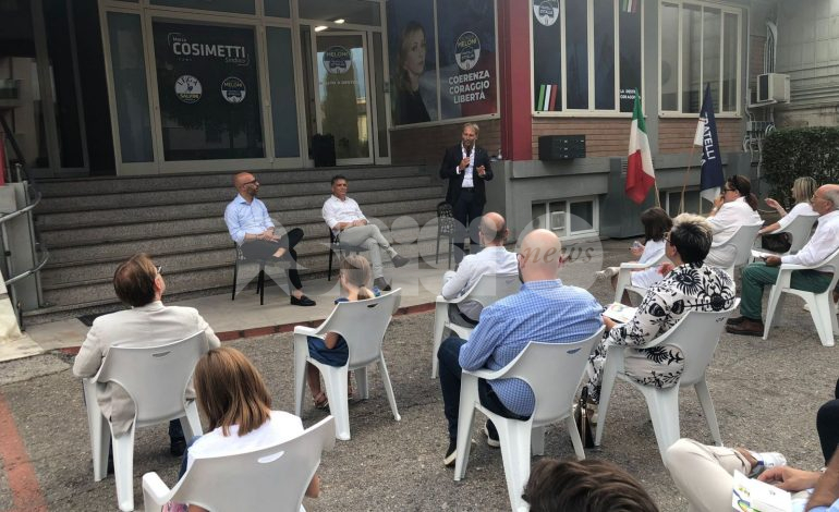 """Fratelli d'Italia Assisi inaugura la sede: """"Con Cosimetti vinciamo"""" (foto)"""