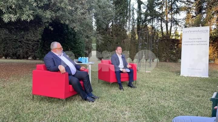 Confimi Industria Umbria incontra l'assessore Michele Fioroni