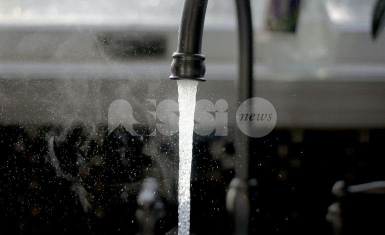 Erogazione acqua sospesa il 5 luglio a Santa Maria degli Angeli