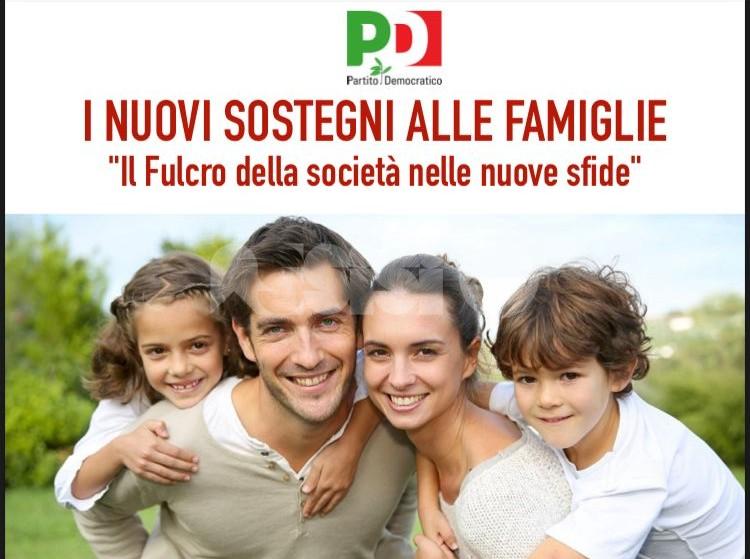 Sostegni alle famiglie, se ne parla in un incontro del Pd di Assisi