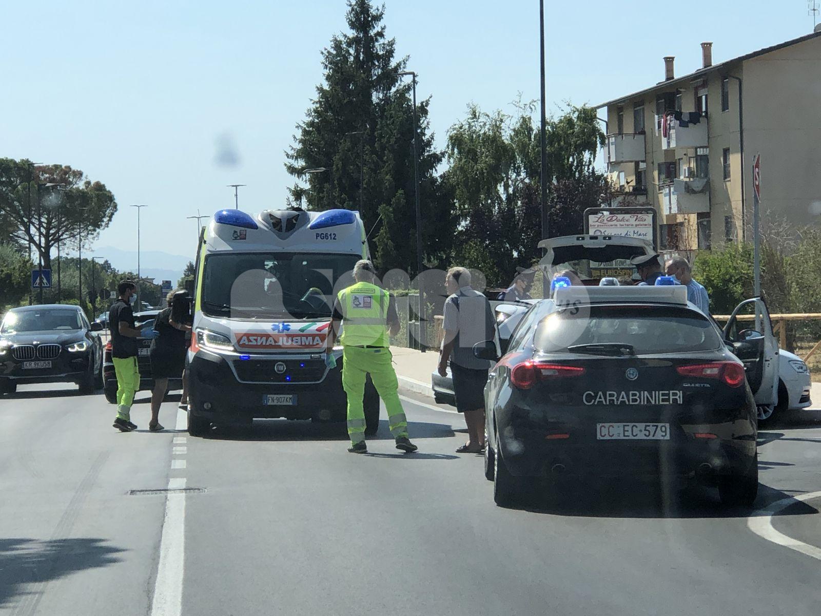 Incidente a Santa Maria degli Angeli, nessun ferito grave