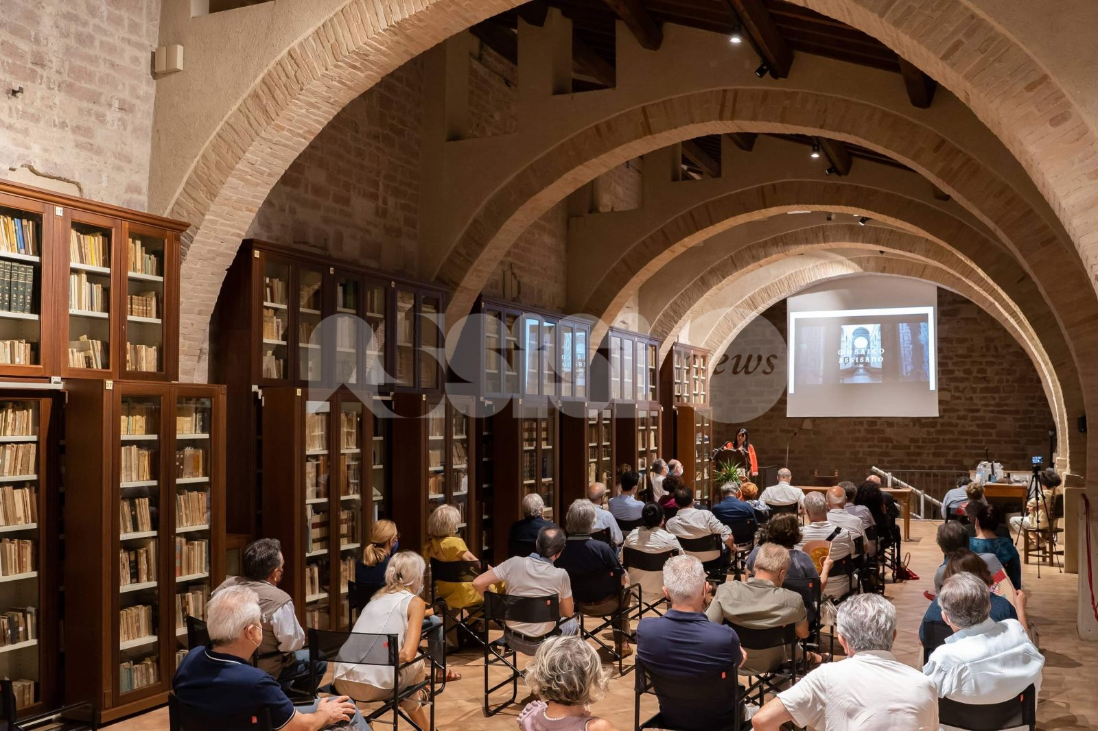 Arte come lavoro, grande partecipazione alla presentazione del secondo video di Mosaico Assisano