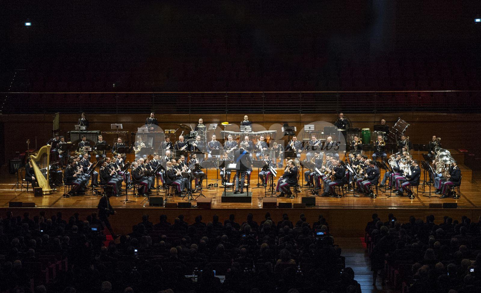 La Banda musicale della Polizia di Stato protagonista ad Assisi per celebrare il Serafico