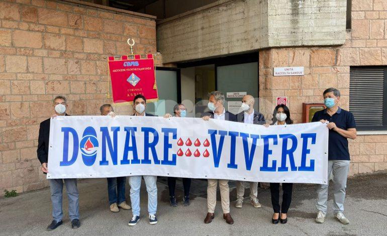 I candidati sindaco sensibilizzano i cittadini sulla necessità della donazione