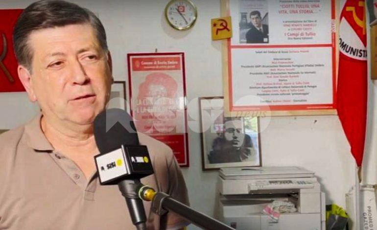 Luigino Ciotti, l'intervista ad AssisiNews per le amministrative 2021 (video)