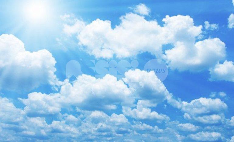 Meteo Assisi 24-26 settembre 2021: venerdì sole estivo, poi più nuvoloso