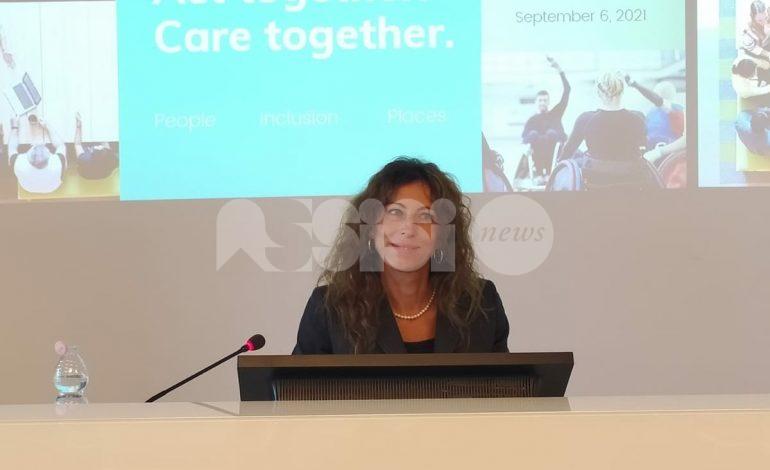 Erika Stefani ad Assisi: visita al Serafico e pranzo a Rivotorto