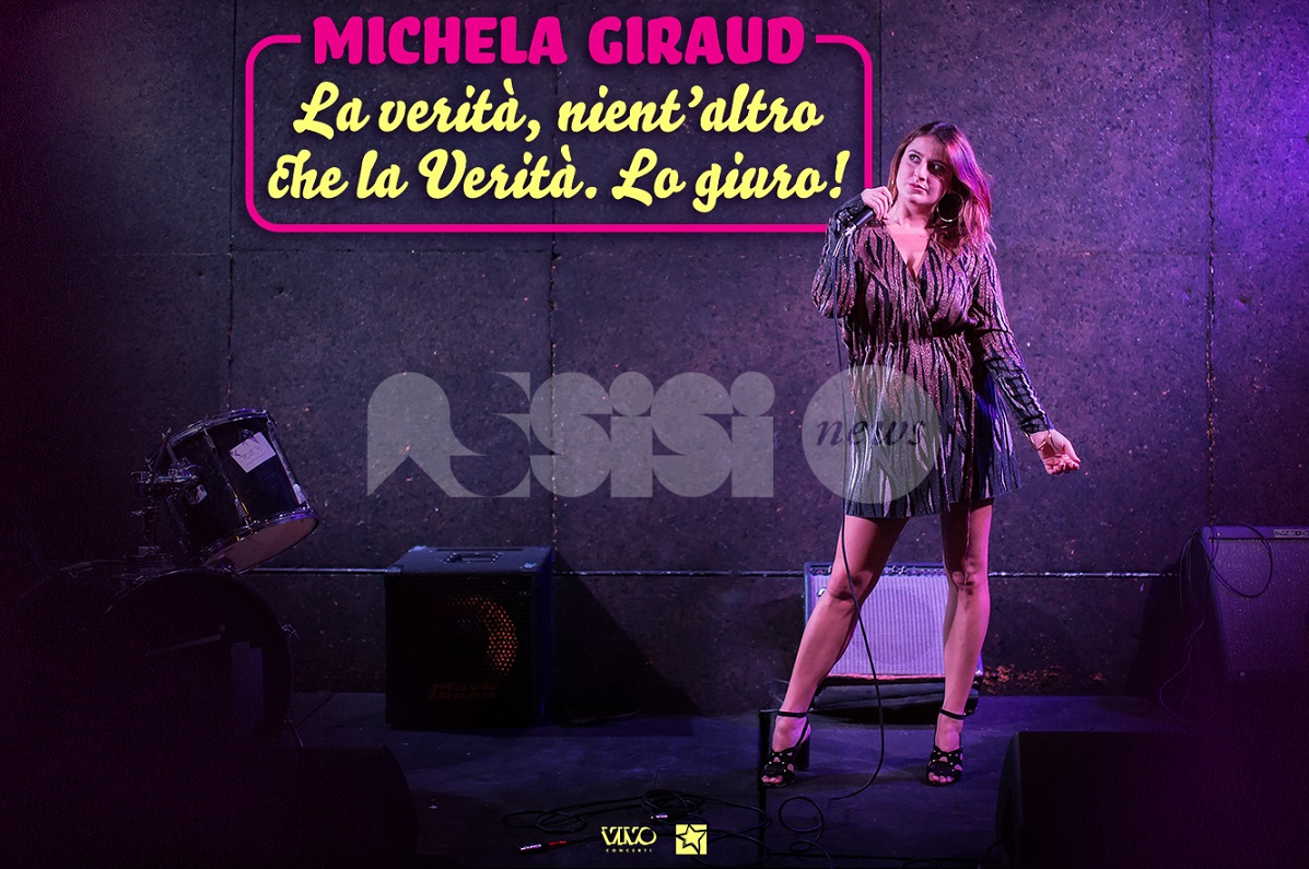 Michela Giraud, la stand-up comedy arriva ad AssisiOnLive 2021