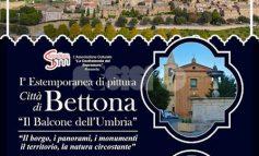 Il balcone dell'Umbria, a Bettona la prima estemporanea di pittura