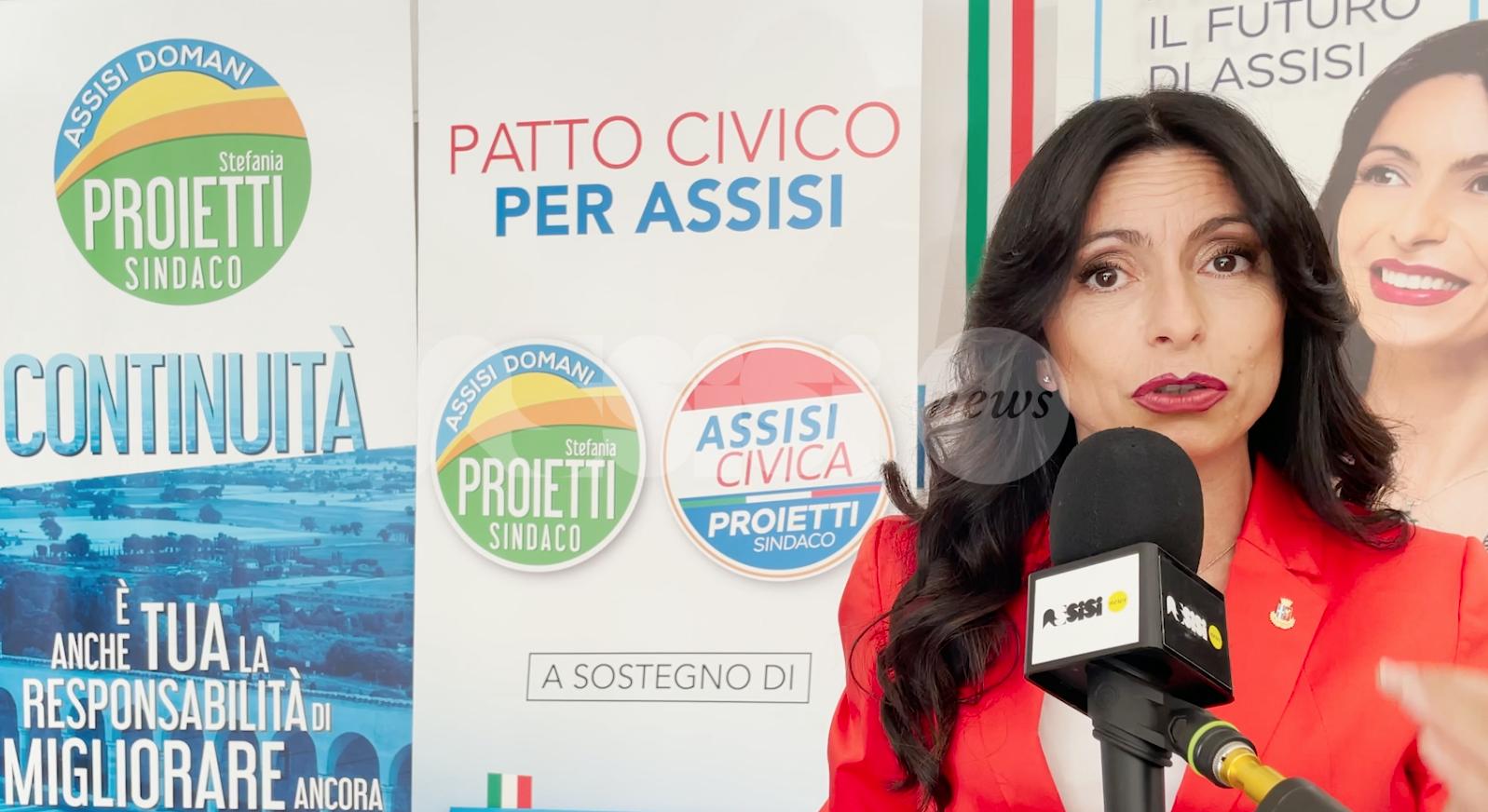 Stefania Proietti, l'intervista ad AssisiNews per le amministrative 2021 (video)
