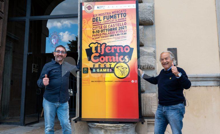 Mostra mercato Tiferno Comics 2021, appuntamento il 9-10 ottobre a Città di Castello